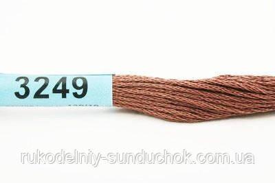 Мулине Гамма (Gamma) 3249 светло-коричневый