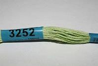 Мулине Гамма (Gamma) 3252 светло-зеленый