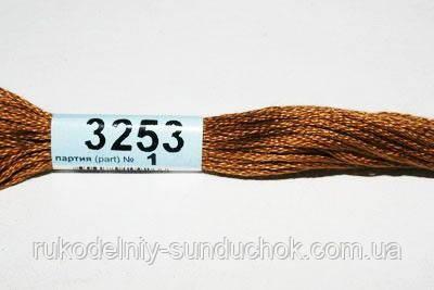 Мулине Гамма (Gamma) 3253 светло-коричневый