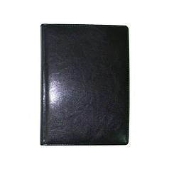 Ежедневник недатированный BRISK OFFICE SARIF Стандарт А4(21х29) Черный