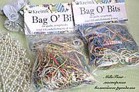 Металлизированные нитки Kreinik Metallic Bag O' Bits 11 Gram Bag