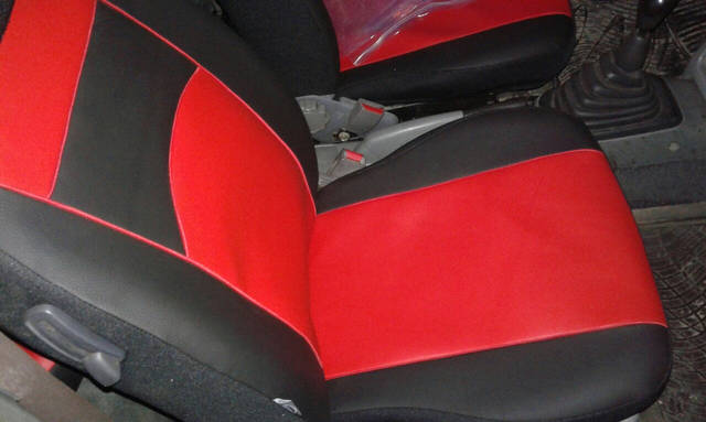 Фотографии модельных чехлов на Nissan Micra 5