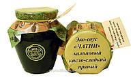 Эко-соус калиновый кисло-сладкий пряный