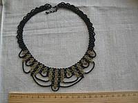 "Ожерелье из бисера ""Готика"" 40 см"