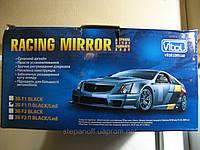 Зеркало внешнее универсальное Vitol ЗБ F1 П Black/Led метал/черное/пов, фото 1