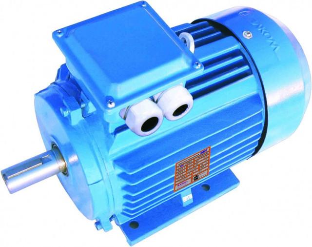 Электродвигатель асинхронный  АИР 63 А6, 0,18кВт, 1000 об/мин (4АА63А6 4ААМ63А6 )