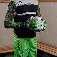 Вратарская форма HO Soccer Infinity Green (комплект шорты + футболка)