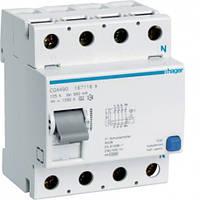 УЗО (дифреле) Hager CGA490 125А 500 мA 4 полюса тип А