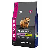 Корм Юкануба для взрослых собак мелких пород (Eukanuba Adult Small Breed) 7,5кг