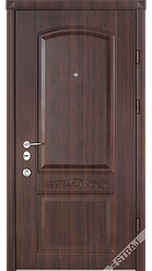 Входная дверь Страж standart-plus Каприз орех золото (на картинке цвет отличается)