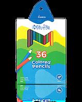 "Карандаши цветные ""MARCO"" Colorite NEW (36 цветов)  1100-36CB"