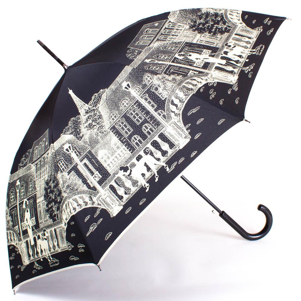 Женский зонт-трость полуавтомат GUY de JEAN FRH13-10