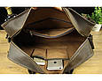 Кожаная сумка саквояж BEXHILL BX1036 коричневая, фото 7