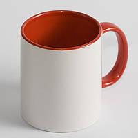 Чашка красная