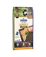 сухий корм для собак BOSCH Adult мясо домашней птицы и спельта 15 кг