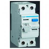 УЗО (дифреле) Hager CD264J 63А 30 мA 2 полюса тип АC