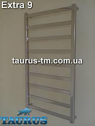 Дизайнерский полотенцесушитель Extra 9/500 мм. от ТМ TAURUS. Суперсовременный дизайн - все плоское