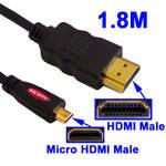 Кабель HDMI-micro HDMI 1.8 метра