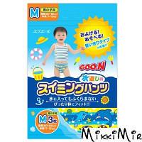Трусики-підгузники для плавання Goo.N для хлопчиків 7-12 кг, 60-80 см на зріст (розмір M,3 шт) GOO.N