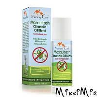 Натуральное роликовое средство от комаров с органическими эфирными маслами (70 мл)