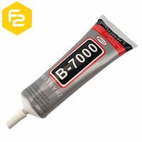"""[110мл] клей-герметик Zhanlida B7000  в упаковке, тюбик с дозатором, """"жидкий скотч для сенсоров"""""""