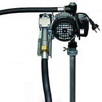 Насос DRUM-TECH, 220В, 60 л/мин для дизельного топлива (дизеля, ДТ) для бочки КИЕВ