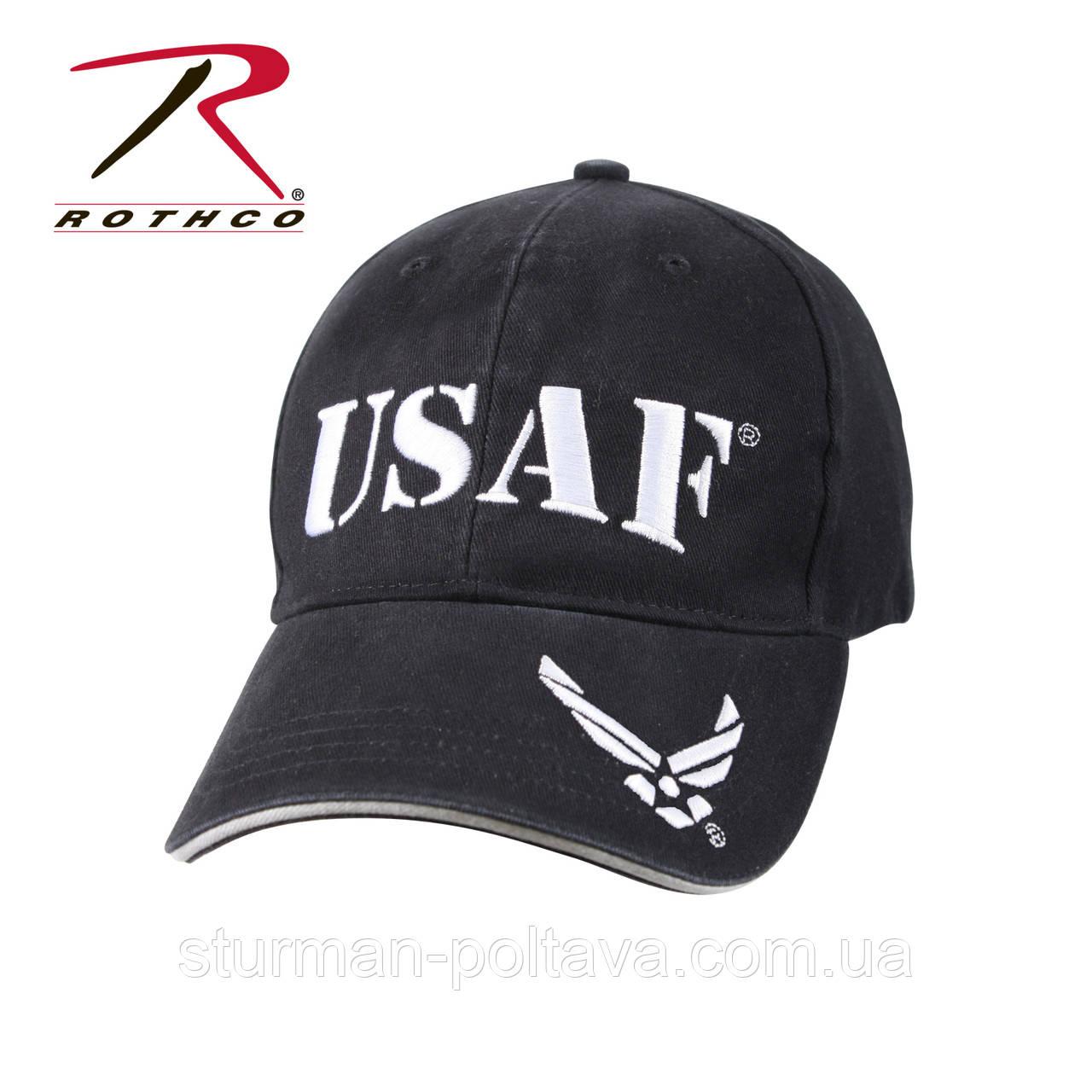 Бейсболка мужская ВВС США USAF Low Profile цвет темно -синяя оригинал Rotcho USA