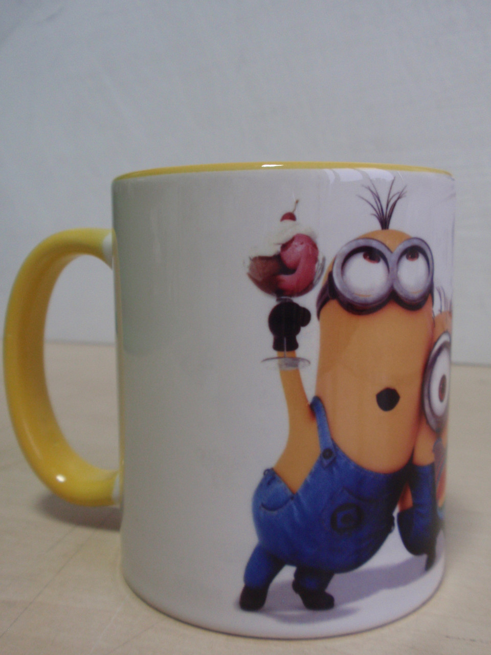 Чашка желтая