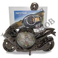 Фоторамка с часами Мотоцикл, фото 1