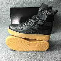 Женские кроссовки Nike Special Field Air Force 1 black, фото 1