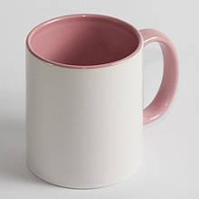 Чашка рожева