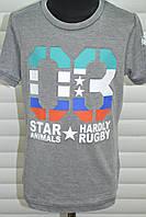 Трикотажные футболки для мальчиков,Размеры 4-12,Фирма S&D.Венгрия