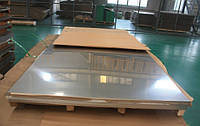 Лист нержавеющий AISI 304  1,2 мм BА+PVC (1х2 м; 1,25x2,5 мм