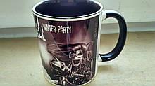 Чашка черная