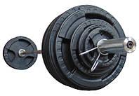 Штанга наборная олимпийская 173.5 кг 2.2 м, фото 1