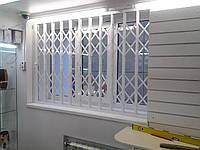 Решетки раздвижные на двери и окна