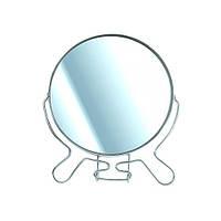 Круглое зеркало с увеличительной стороной