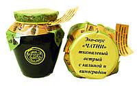 Эко-соус ткемалевый острый с калиной и виноградом