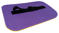 Сидушка «Сноубордиста» фольгированная с ремешком 350х240х13мм