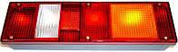 Фонарь МАЗ, КАМАЗ (ЕВРО) задний правый 24В с боковым габаритным фонарем (пр-во Руденск)