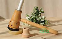 Держатель деревяный для полынных сигар МОКСА (подарок, сувенир)