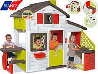 Детский домик SMOBY  FRIENDS DELUX +Большая кухня
