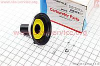 Мембрана круглая 16 мм пластик  внизу с выемкой на скутер 4т