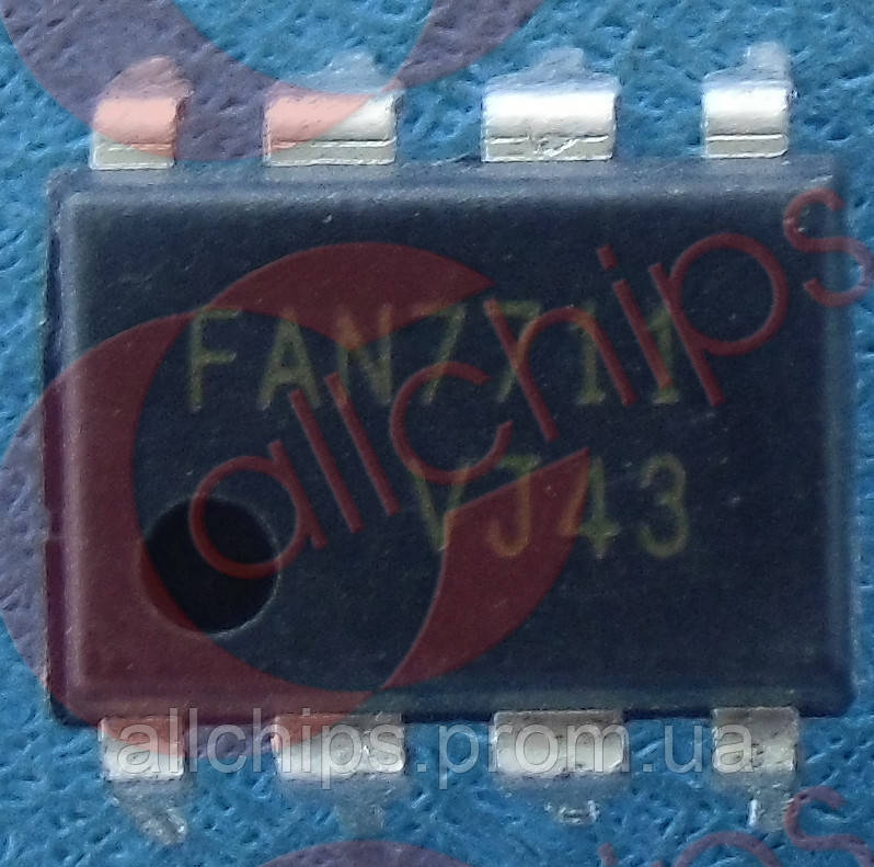 Контроль балласта Fairchild FAN7711N DIP8 - Allchips в Одессе