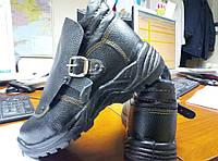 Ботинки рабочие защитные Сварщик, юфтевые, литьевой метод крепления
