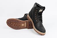Мужские зимние черные ботинки Shamrock - Rhino, Black
