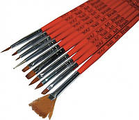 Набір пензликів для дизайну Y.R.E. NK-16