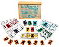 Детская настольная игра - Лото - Математика
