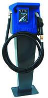 Мини АЗС VISION 80, 220В, 80 л/мин, колонка для дизельного топлива (дизеля, ДТ) с пьедесталом КИЕВ