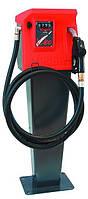Мини колонка VISION 100, 220 В, 100 л/мин, для заправки дизельным топливом (дизеля, ДТ) с пьедесталом КИЕВ